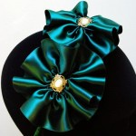 Charlotte Green Headpiece