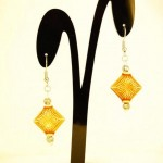 Indian Diamond earrings1