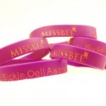 Missbee sickle cell awareness wristbands