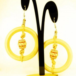 Roped in Afrochic earrings